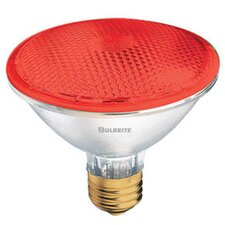 75W PAR30 Halogen Bulb in Red