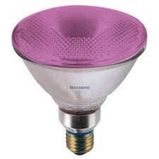 90W Pink 120-Volt Halogen Light Bulb