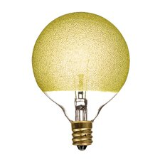 40W Amber Ice Incandescent Light Bulb