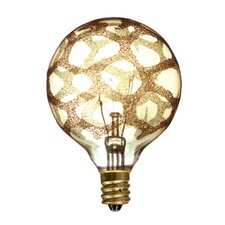 Crystal 40W Amber Marble Incandescent Light Bulb