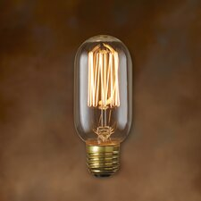 <strong>Bulbrite Industries</strong> 40W T14 Nostalgic Incandescent Medium Base Bulb