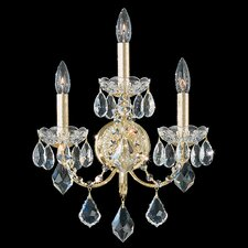 Century Three Light Wall Sconce