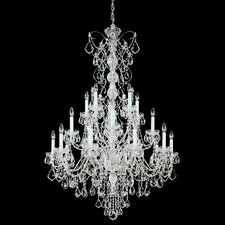 <strong>Schonbek</strong> Century 20 Light Chandelier with Handcut Crystal