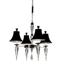 Diva 4 Light Chandelier