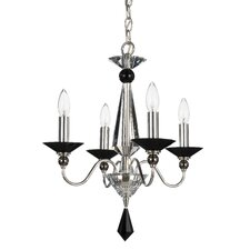<strong>Schonbek</strong> Jasmine 4 Light Mini Chandelier