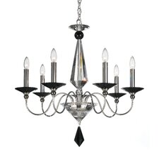 <strong>Schonbek</strong> Jasmine 7 Light Chandelier