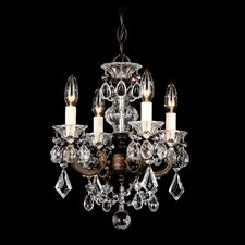 La Scala 4 Light Chandelier