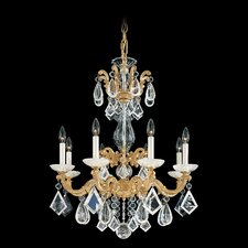 La Scala Rock Crystal 8 Light Chandelier