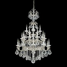 <strong>Schonbek</strong> La Scala 25 Light Chandelier with Crystal