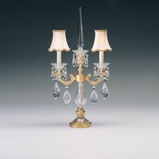 "La Scala 25"" H Table Lamp with Bell Shade"