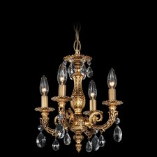 <strong>Schonbek</strong> Milano 4 Light Mini Chandelier