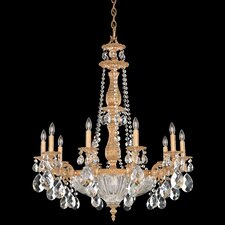 <strong>Schonbek</strong> Milano 14 Light Chandelier
