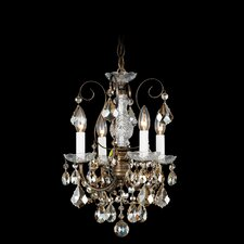 New Orleans Wall Sconce in French Gold with Clear Handcut Crystal