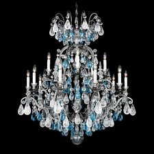 <strong>Schonbek</strong> Renaissance Rock Crystal 15 Light Chandelier