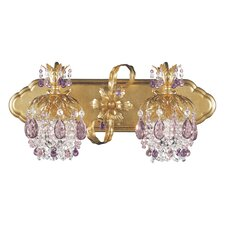 <strong>Schonbek</strong> Rondelle 2 Light Bath Vanity Light