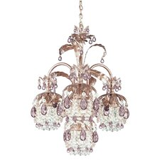 Rondelle 4 Light Mini Chandelier