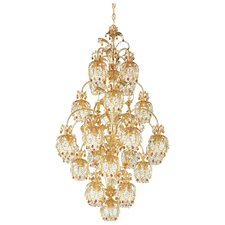 Rondelle 25 Light Chandelier