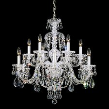 Sterling 12 Light Chandelier
