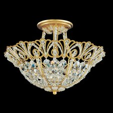 Tiara 5 Light Semi Flush Mount