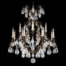 <strong>Schonbek</strong> Versailles Rock Crystal 12 Light Chandelier