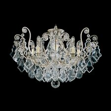 Versailles 8 Light Semi Flush Mount