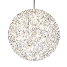 Da Vinci 18 Light Globe Pendant with Spectra Crystals