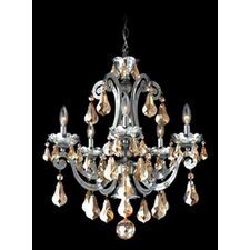<strong>Schonbek</strong> Cadence 5 Light Chandelier