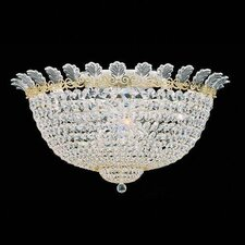 Roman Empire 13 Light Flush Mount