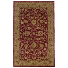 Meadow Breeze Red Rug