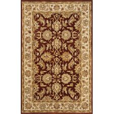 Meadow Breeze Burgundy Rug