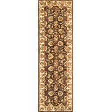 <strong>Continental Rug Company</strong> Meadow Breeze Dark Brown Rug