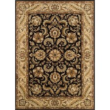 Meadow Breeze Black Rug