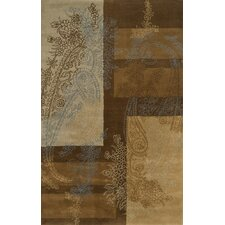 Edge Brown/Blue Rug