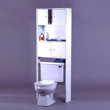 "Carina 25"" x 67.63"" Over The Toilet Cabinet"