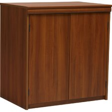 <strong>Ameriwood Industries</strong> 2-Door Storage Cabinet in Expert Plum