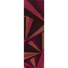 Destinations Rugaspberry Sorbet/Wine Rug