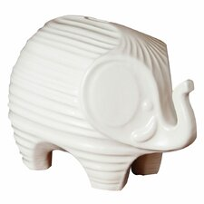 Elephant Bank Figurine