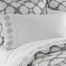 Hollywood Embroidered Pillow Cases (pair)