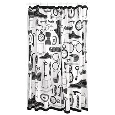 Mantique Cotton Shower Curtain