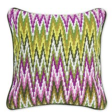 Bargello Sandpiper Drive Wool Pillow