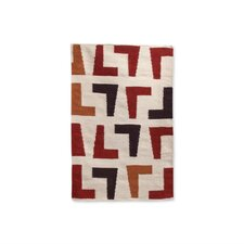 Arthur Kilim Red/Natural Rug