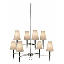 Ventana 8 Light Chandelier