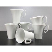 """Kaffeebecher """"Wing Weiß"""" (6er Pack)"""