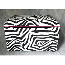 East Coast Seating Zebra Upholstered Blanket Chest