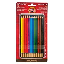 Mondeluz Watercolor Pencil (Set of 12)