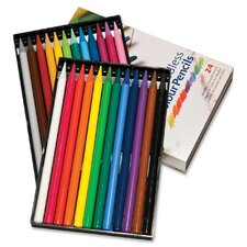 Progresso Woodless Colored Pencils (24 Pack)