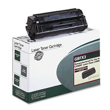 GBFX3 Laser Cartridge, Standard-Yield, 2700 Page-Yield, Black