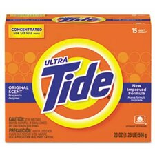 Tide Ultra Laundry Detergent, Original Scent, 20 oz. Box