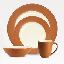 Colorwave Rim Dinnerware Set