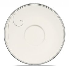 "Platinum Wave 6.25"" Saucer"